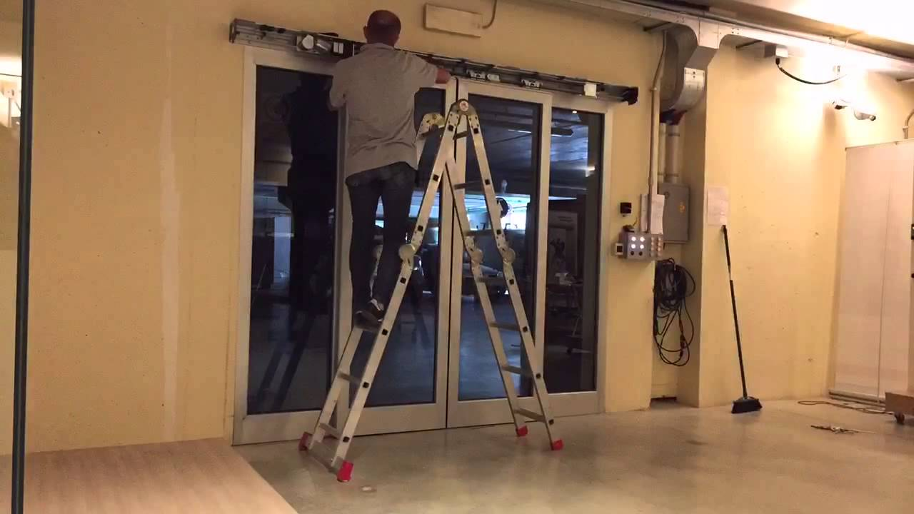 Automatic doors repair
