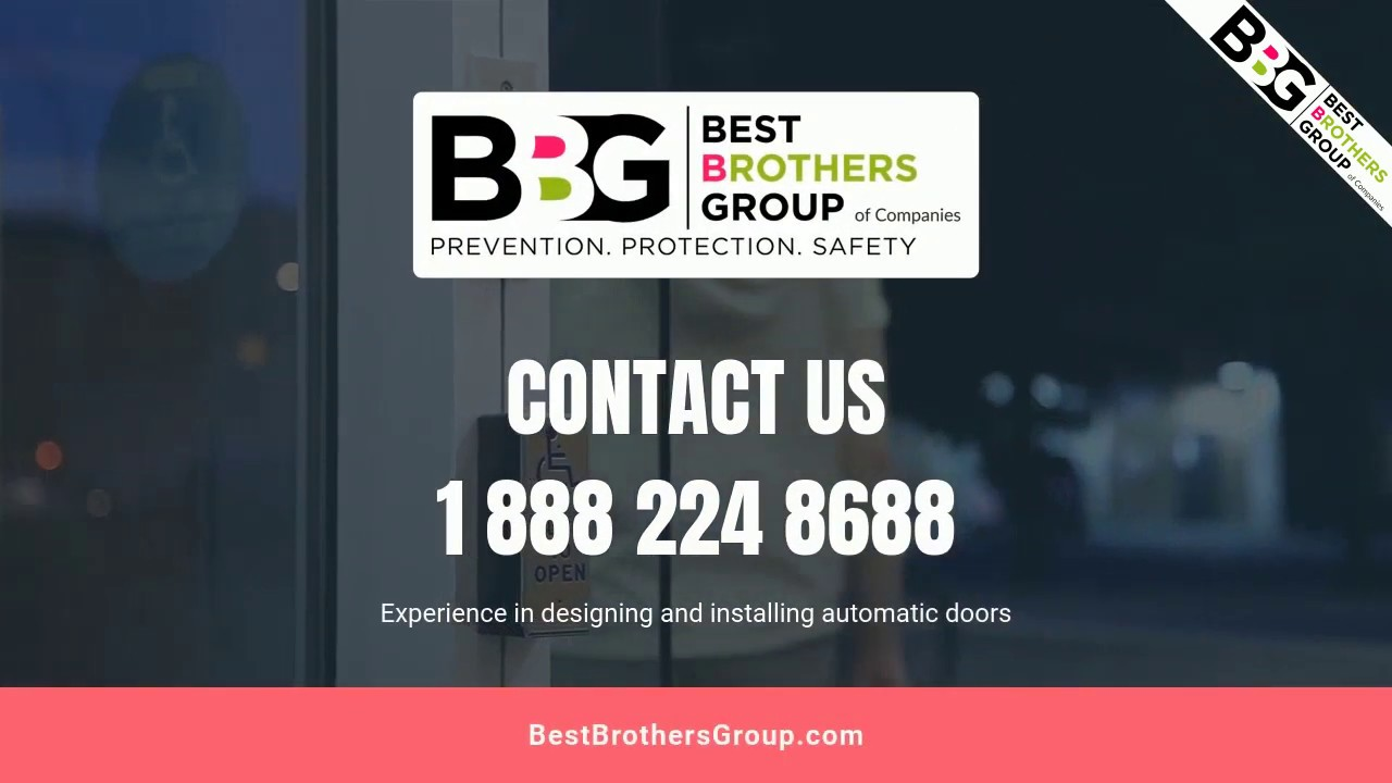 BBG INSTALL A FULL RANGE OF AUTOMATIC DOOR OPERATORS (BQ)