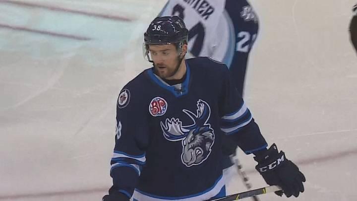Winnipeg Jets sign pair from Manitoba Moose - Winnipeg