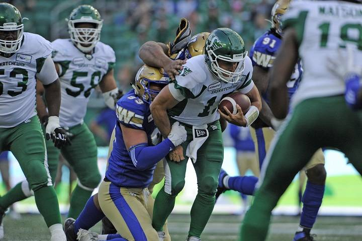 Winnipeg Blue Bombers close out pre-season with win over Saskatchewan Roughriders - Winnipeg