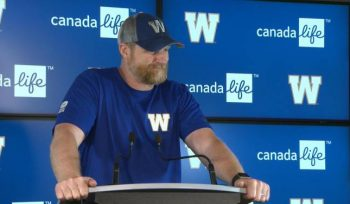 Another top performer nod for Blue Bombers running back Andrew Harris - Winnipeg