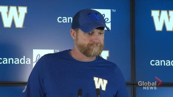 Linebacker Adam Bighill is back for the Winnipeg Blue Bombers - Winnipeg