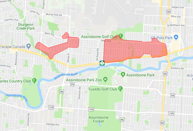 Power outage affecting 2,400 St. James customers, says Manitoba Hydro - Winnipeg