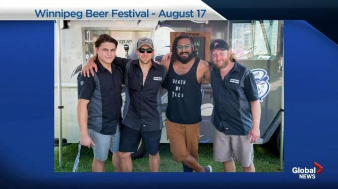 Homegrown brewers on tap for third annual Winnipeg Beer Fest - Winnipeg