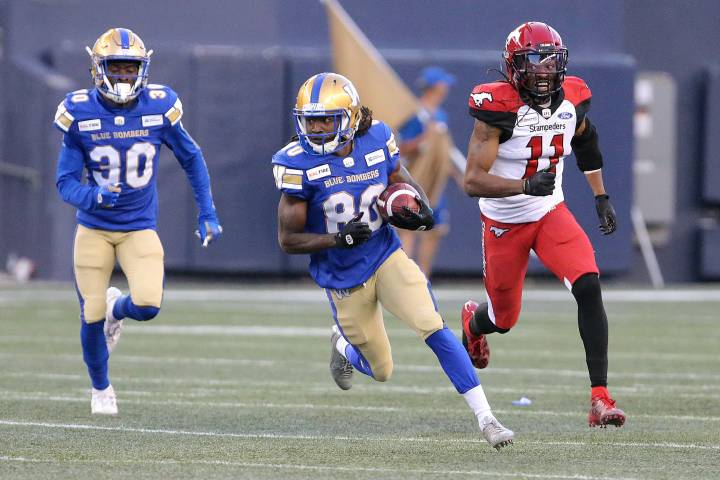 Special teams boosts Winnipeg Blue Bombers to win over Stamps - Winnipeg