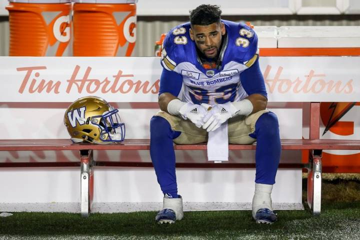 Winnipeg Blue Bomber Andrew Harris suspended after testing positive for 'very small trace' of banned substance - Winnipeg