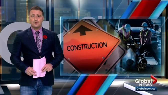 Construction worker struck by vehicle in Sturgeon Creek - Winnipeg
