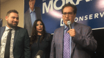 Marty Morantz thanks supporters on Election Night