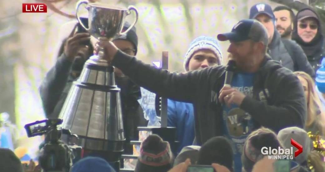 O'Shea says he's likely to return as coach of Grey Cup-champion Bombers - Winnipeg