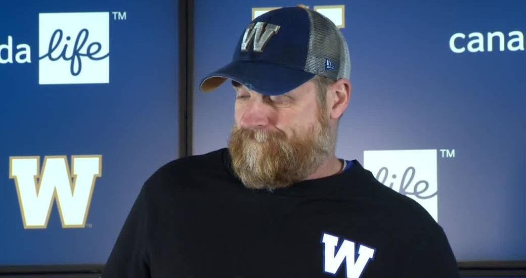 Winnipeg Blue Bombers split ways with Anthony Gaitor ahead of playoff game - Winnipeg