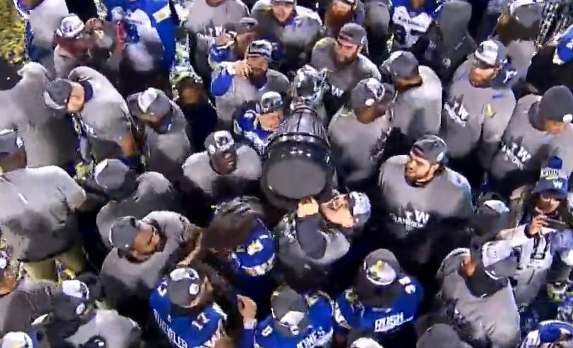 Winnipeg Blue Bombers release Jonathan Kongbo to pursue NFL job - Winnipeg
