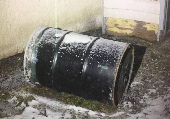 Jennifer Barrett's body was found in a barrel behind their Winnipeg home in December 2016.