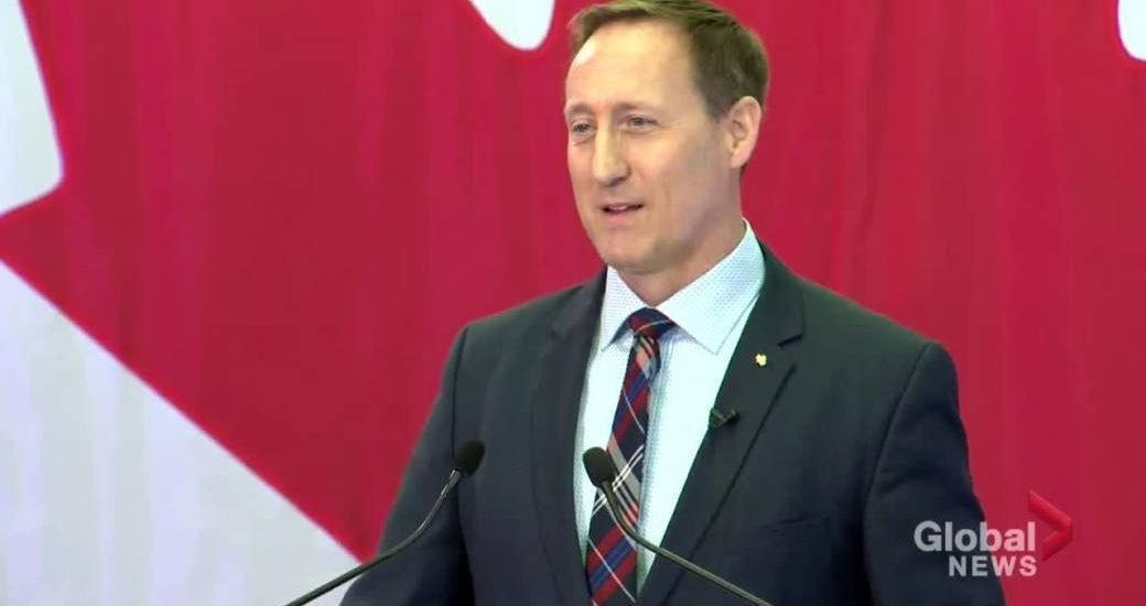 Tory leadership hopeful MacKay welcomes input from Manitoba, western Canada