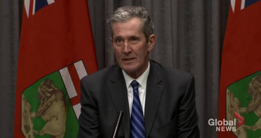 Manitoba cuts due to high debt and uncertainty: Pallister - Winnipeg