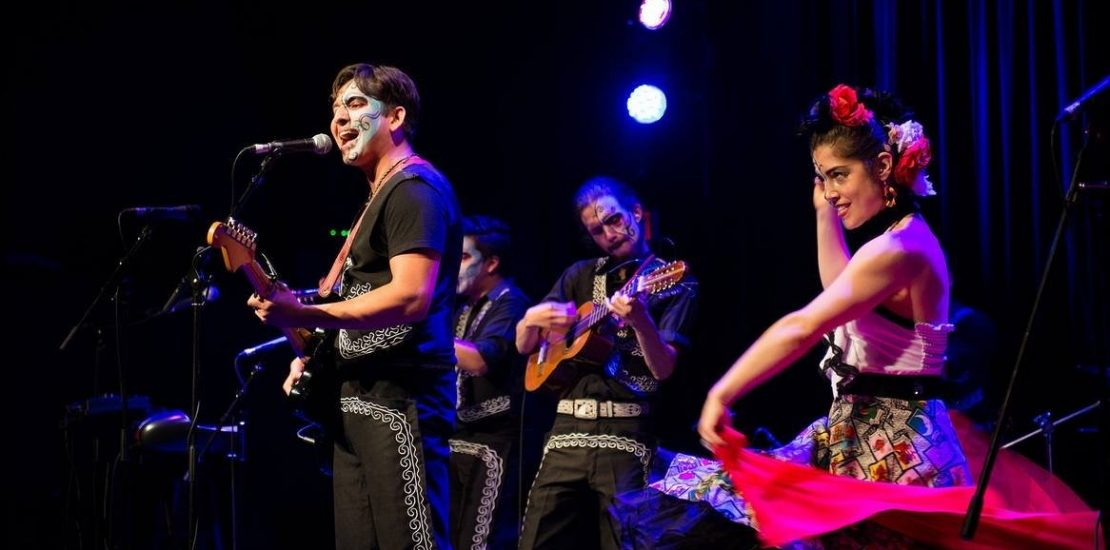 The Mariachi Ghost playing at the West End Cultural Centre.