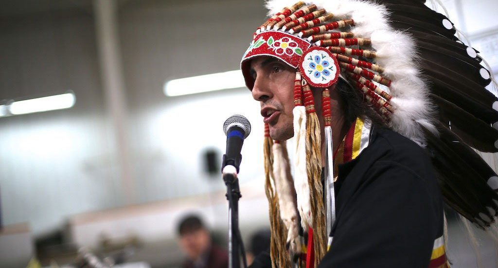 Grand Chief Arlen Dumas