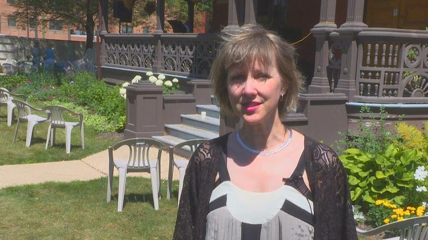 Angela Heck, the Executive Director for Jazz Winnipeg.