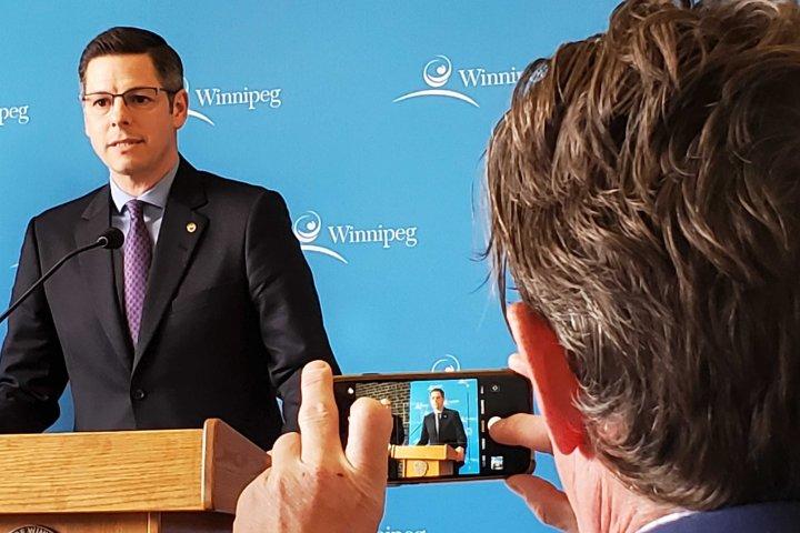 Winnipeg mayor to speak at Thursday afternoon press conference