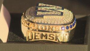 Winnipeg Blue Bombers unveil Grey Cup championship rings - Winnipeg