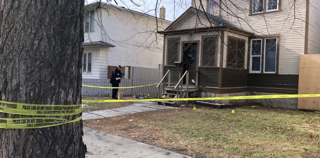 Winnipeg police investigating the city's 37th homicide.